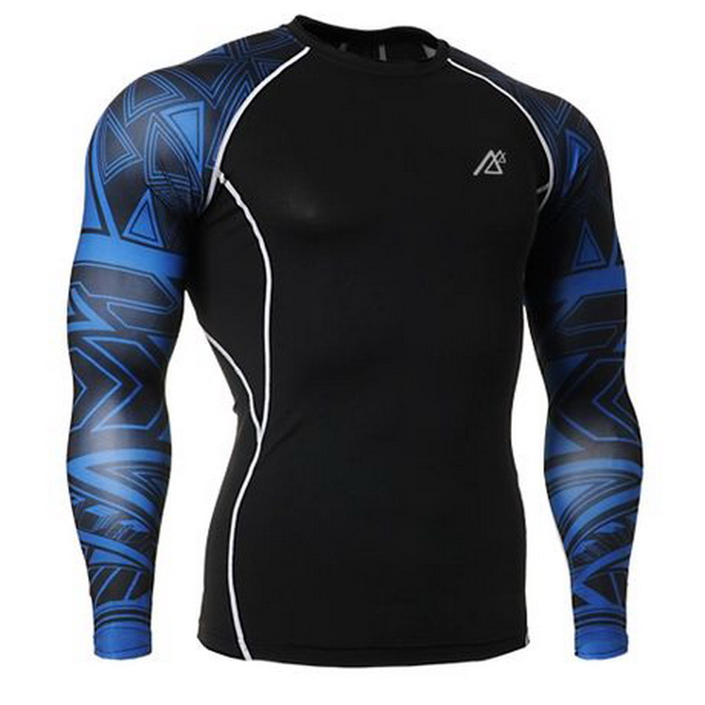 2017 American Football Jersey breathable Softball Tops Tight quick dry Compression Boxing Undershirt Basketball Shirt Skin Tee image