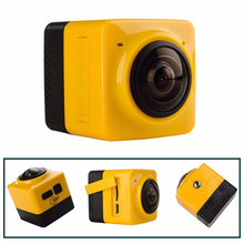 SOOCOO C-UBE360 Mini Sports Action Camera 360Panoramic VR Cameras Wide-Angle 720P 360×190 HD Video Camcorder Build-in WiFi Cam