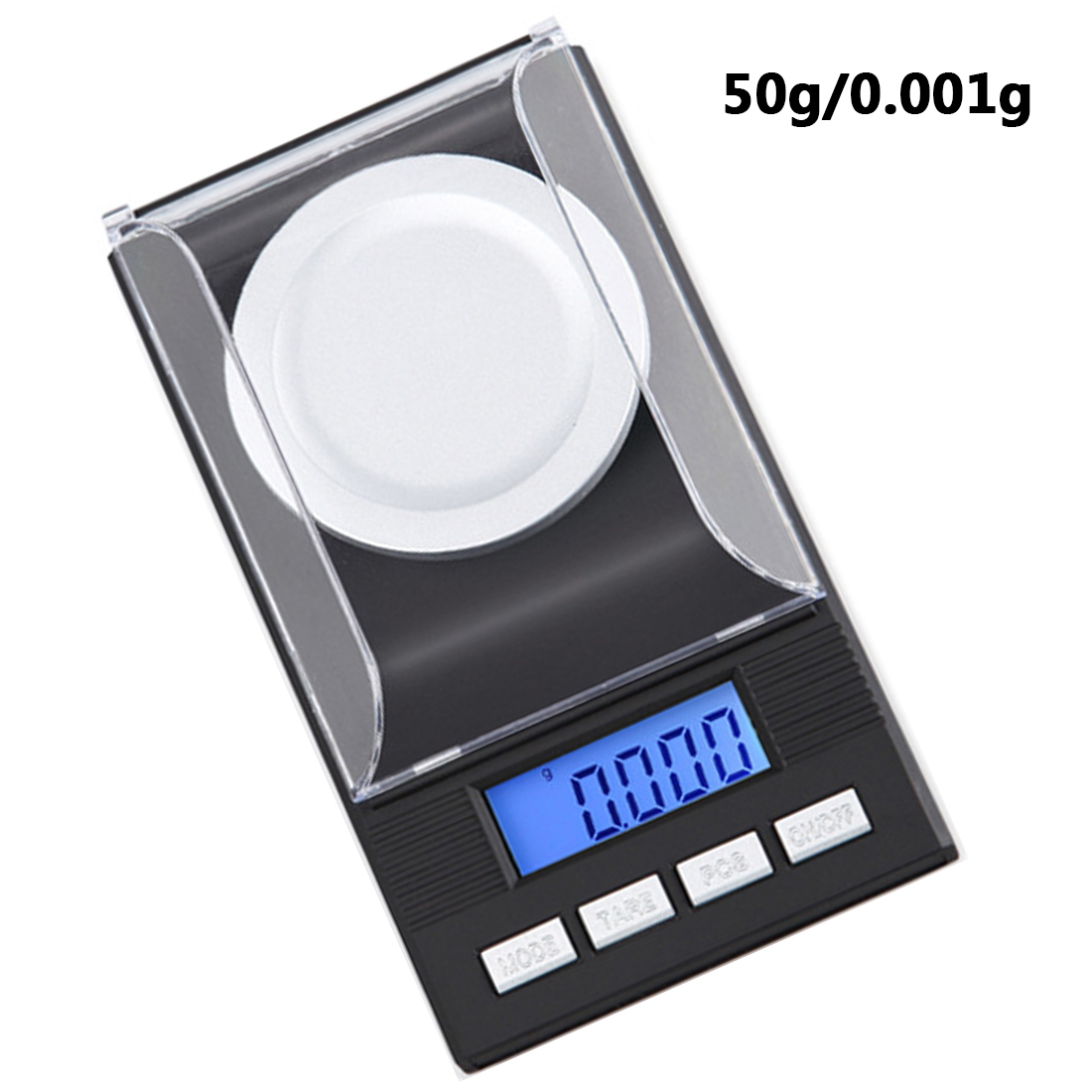 New Portable Mini 20g/50g/100g/0.001g Digital Scale LCD Electronic Capacity Balance Diamond Jewelry High Precision Pocket Scale цена
