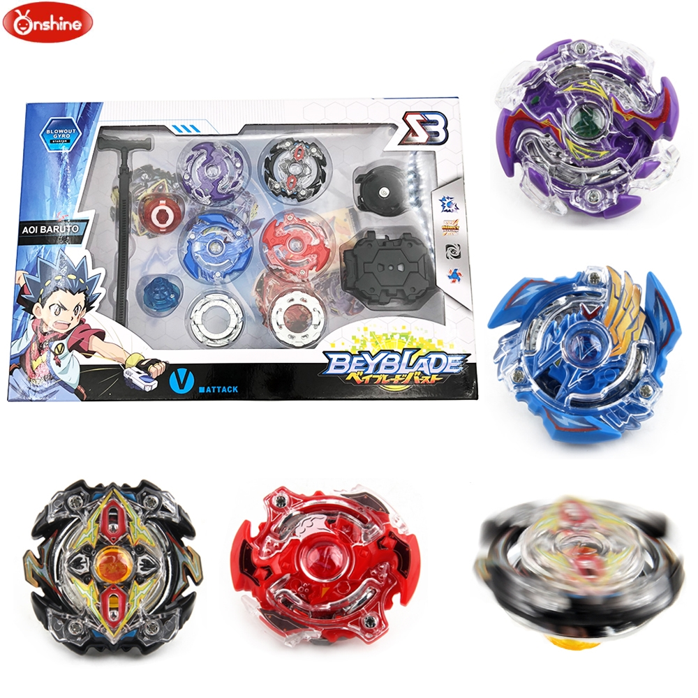 4pcs/set Beyblades Arena Spinning Top Metal Fight Beyblade Burst Metal Fusion Children Gifts Classic Toys цена