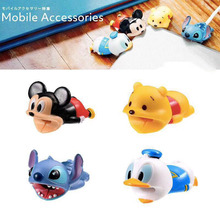 Newest Cable Accessory Cable Animal Bites Cartoon USB Charger Data Cable Cord Pr