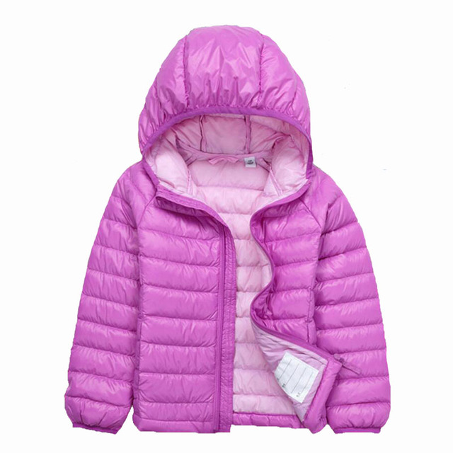 90% White Duck Down Baby Boys Outerwear Infant Overcoat Winter-Clothing Children's Baby Boys Winter Jacket Coat Warm Down Parkas