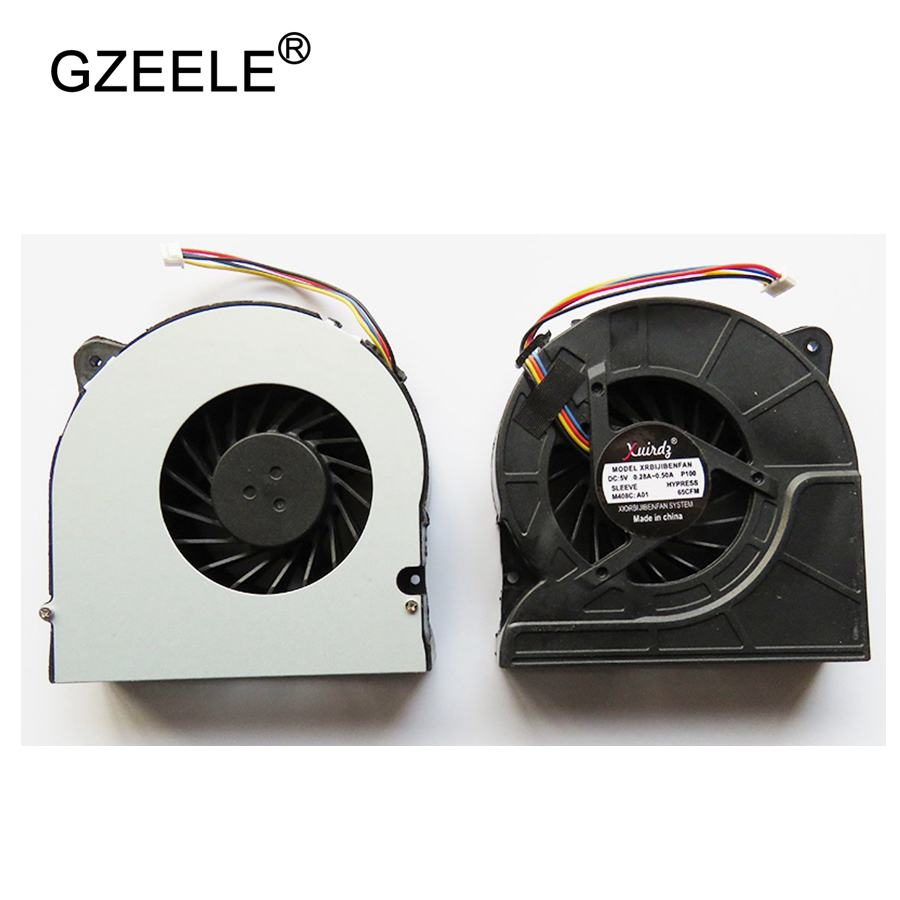 GZEELE nouveau cpu ventilateur de refroidissement pour ASUS G71 X73SL M70SV X71 G71GX M70 M70V G61 X61 G72 Ordinateur Portable cpu fan Portable Cpu Cooler Ventilateur 4 Ligne