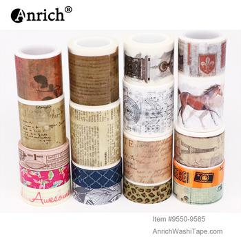 Darmowa wysyłka i kupon taśma washi taśma Washi podstawowa konstrukcja opcjonalna kolokacja na sprzedaż #9550-9585 tanie i dobre opinie Anrich CN (pochodzenie) basic design of washi tape Write-On Tape Adhesive Tape