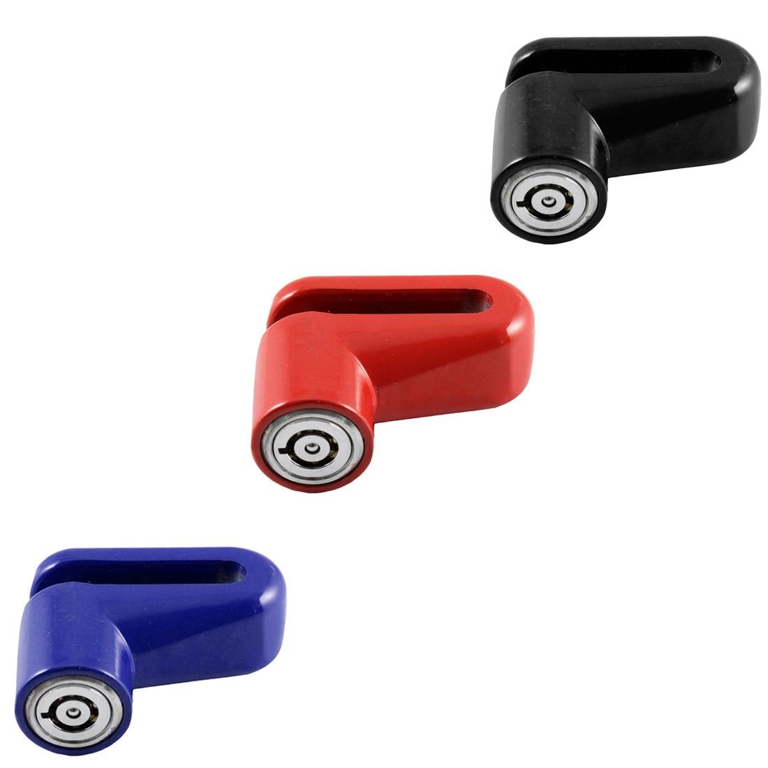 רכב-partment הגעה חדשה אופנוע אבטחת אופניים נעילת בלם דיסק גלגל יציב גנב אנטי מעורר דיסק דיסק בלם רוטור מנעול