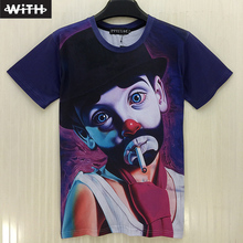 New Hot Fashion Men and Women 3D T Shirt Funny Boy Sexy Rihanna Monroe Digital Printing Camiseta 3d Hombre Hip Hop T-shirt