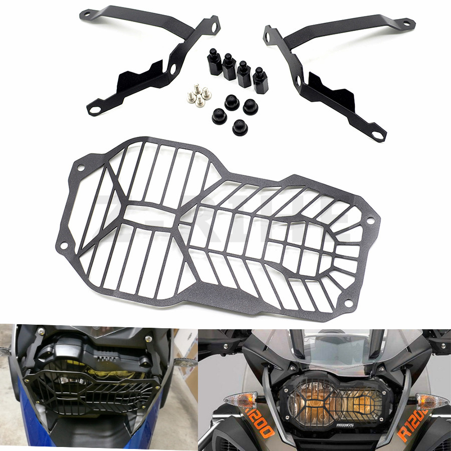 For Headlight Grille Guard Cover Protector For BMW R1200GS R 1200 GS ADV Adventure (Water Cooled) 2012 2013 2014 2015 2016 Parts motorbike headlight cover protector for bmw r1200gs adv lc 2013 2016 2015 2014