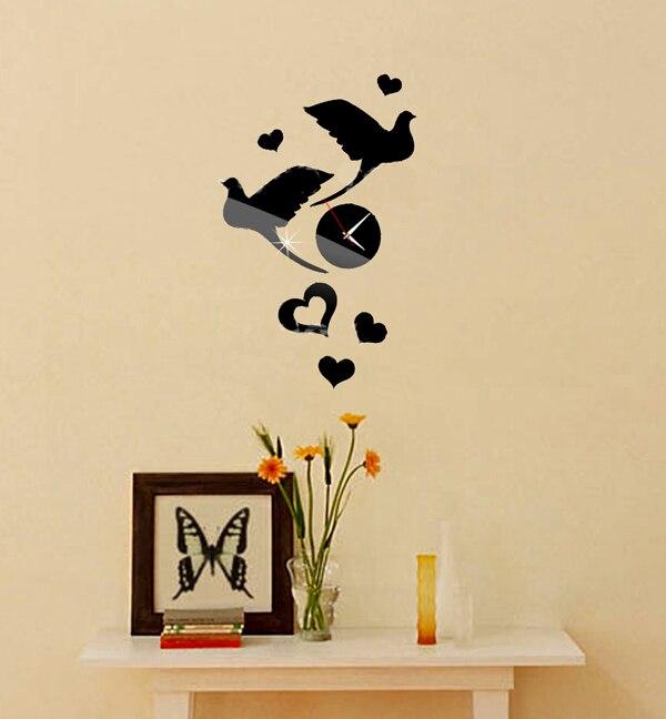 Colorful Diy Bird Wall Decor Vignette - Wall Art Design ...