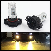 2Pcs Lot Car Styling Canbus Error Free Psy24w 50w Led Turn Signal Lights Tail Psy24w Yellow