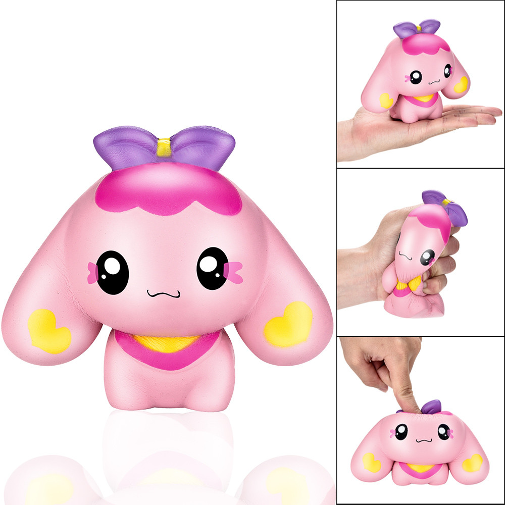 New Squishy Cartoon Puppy Scented Slow Rising Squeeze Collect Stress Reliever Toy New arrival 2018 funny gadgets oyuncak #JY326