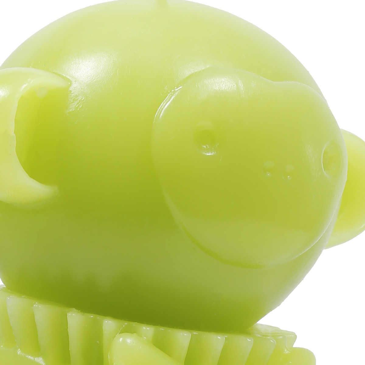 Tooarts Свеча ароматическая Свечи зеленая обезьяна tomfeel животного Скелет Домашний Декор Воск натуральный хлопок фитиль на день рождения свечи Декор
