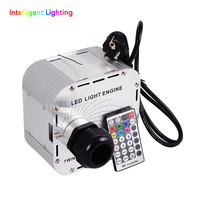 32W Twinkle Flash RGBW LED Fiber Optic Light engine 28key RF remote in sky stars,Multi-colored lights flashing beads+wheel 2 in 1 fiber optic multi purpose professional high grade diagnostic medical ent portable otoscope ophthalmoscope replace head