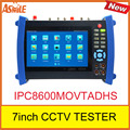 IPC-8600MOVTADHS tester cctv IP Câmera de CCTV Câmera SDI CVI TVI AHD Analógico Tester TDR Teste/OPM/MULTI/teste VFL ONVIF/WIFI