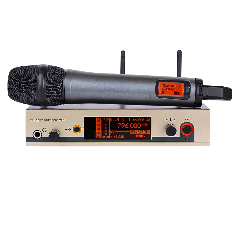 Professional wireless microphone EW UHF 335G3 300G3 Cordless Microphone System Handheld Wireless Mic skm microphone brand G3 professional karaoke wireless microphone system 2 channels led display receiver cordless handheld mike for mixer stage computer