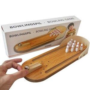 Wooden Mini Bowling Parent-Chi