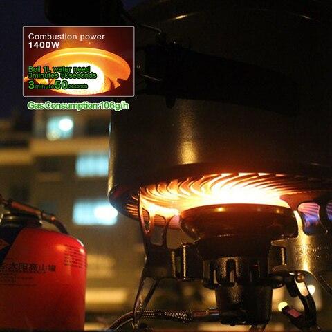 vento camping panelas fogao para piquenique cookout caminhadas