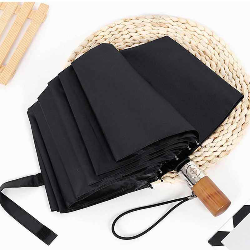 Fully automatic folding Umbrellas Household Merchandises necessities three fold compact strong Rain Gear free shipping sale