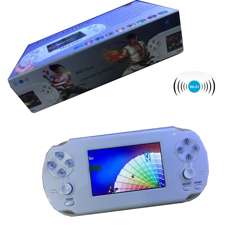 2018 NEW Tlex Ulike Android Handheld Game Console With 4GB Memory+ Bluetooth Wifi HDMI Video Support MP4 MP5 Android player