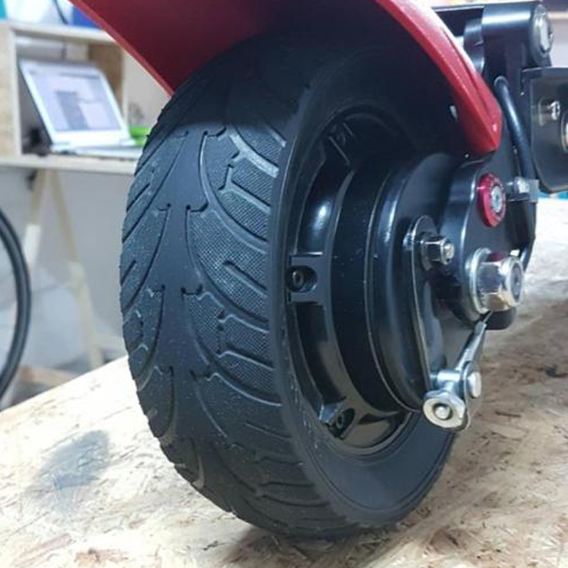 Electric Scooter Car Vacuum Tire Tyre Wheel For 8 Inches 200X60 Scooter Solid Tire Brushless Motor Non Pneumatic For Skateboard