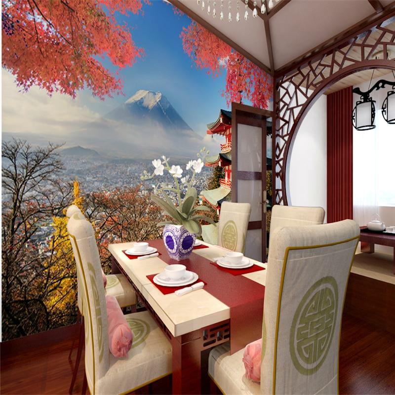 Japanese custom 3D wallpaper landscape 3D wallpaper Fuji Japanese restaurant Sushi restaurant large mural backdrop beauty salons ноутбук msi pe62 7rd 1462xru 9s7 16j9f1 1462 intel core i7 7700hq 2 8 ghz 8192mb 1000gb nvidia geforce gtx 1050 2048mb wi fi bluetooth cam 15 6 1920x1080 dos