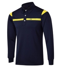 2016 NEW tit golf clothes long-sleeve men's clothing tit male long-sleeve T-shirt golf male long-sleeve leist