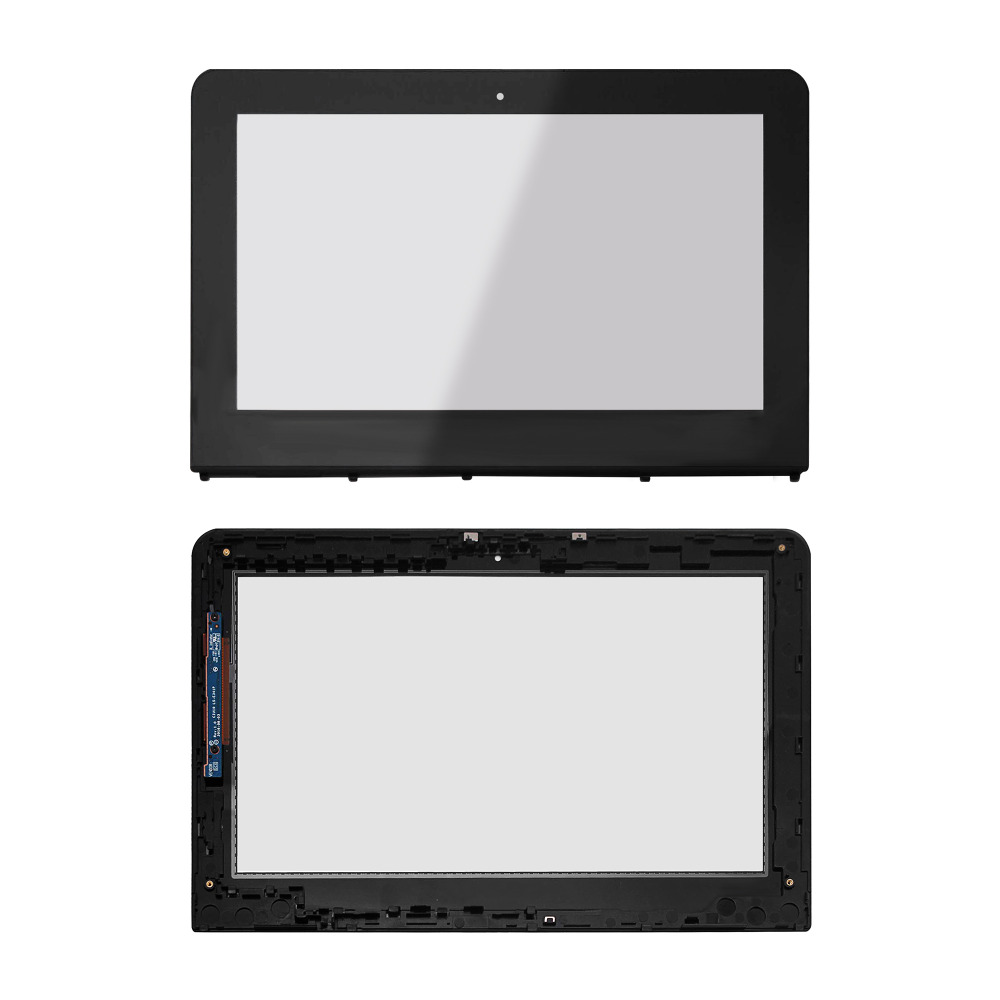11.6'' Full LCD Display Touch Screen Glass Assembly+Frame+Digitizer Board For HP Stream x360 11-aa099nla 11-aa080ng 11-aa030ng стоимость