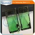 Для Samsung Note 8 N8 Note8 N950 N950F Note 9 N9 Note9 N9600 N960F 3D прозрачное стекло задняя крышка для аккумулятора задняя дверь