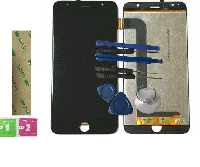 New For teXet TM-5577 X-plus TM 5577 LCD Display With Touch Screen Digitizer Assembly Replacement With Tools Free Shipping