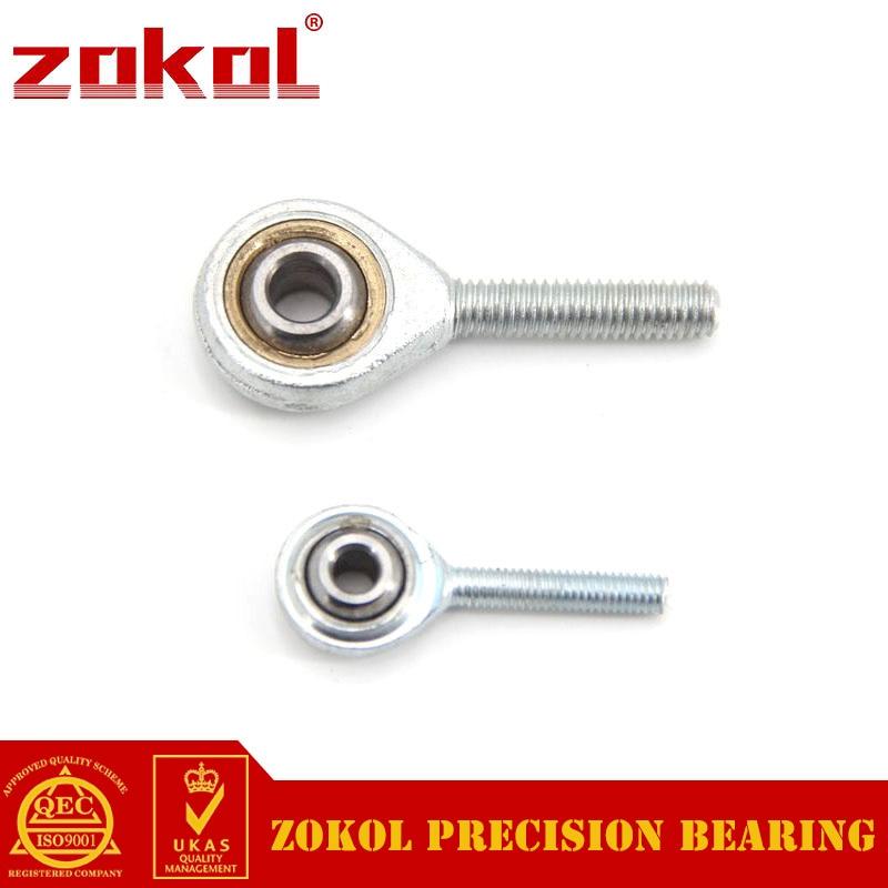 ZOKOL bearing SAL20T/K Male Thread Left-hand thread  Rod End bearing M20*1.5mm 8mm bearing sil8t k phsal8 sil8 sil8tk rod end joint bearing metric female left hand thread m8x1 25mm rod end bearing si8 si8tk