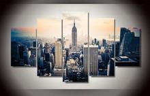 PicturePrinted New York City HD Malerei Auf Leinwand Raumdekoration Druckplakat Bild Leinwand Wanddekormalerei (Ungerahmt)