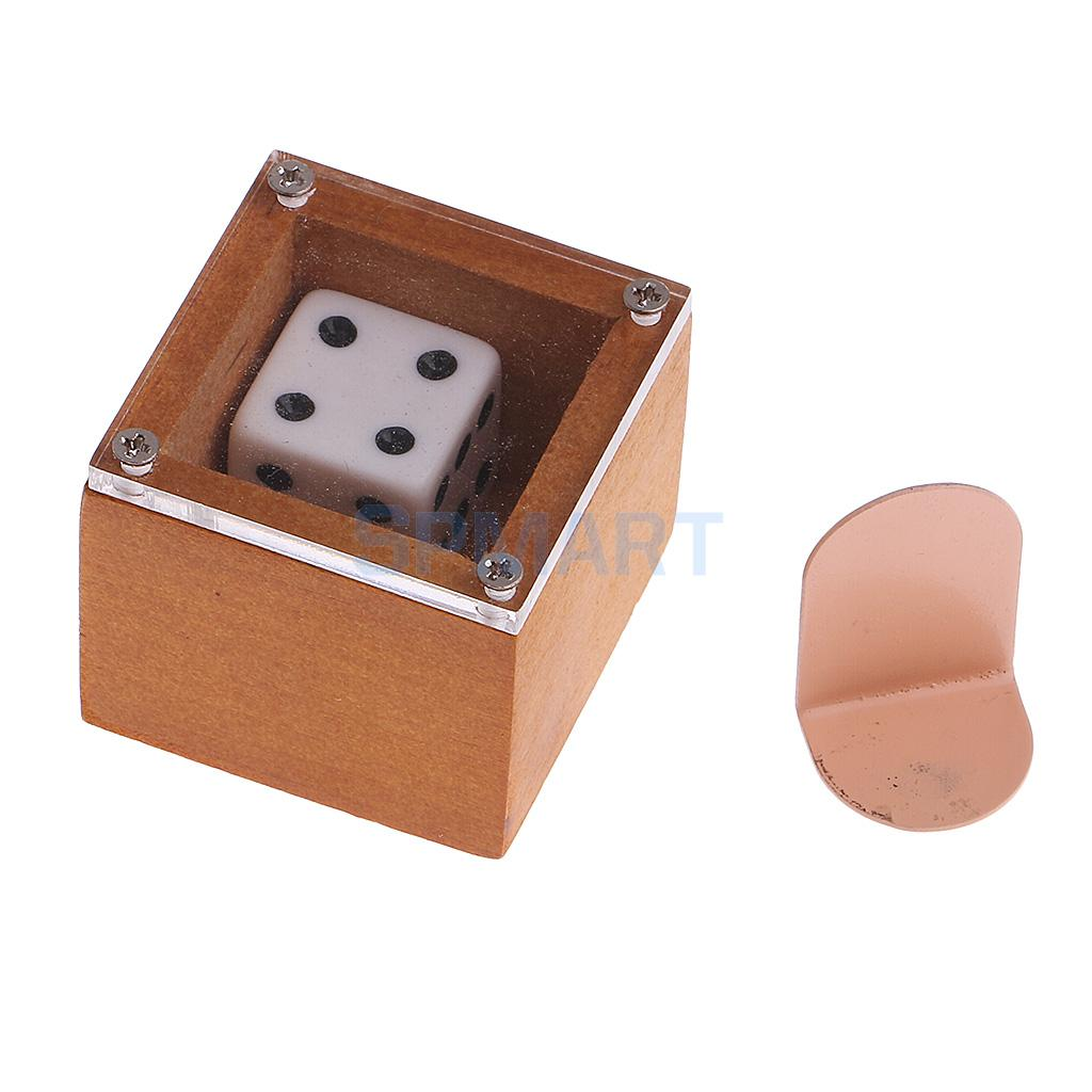 Mentalism Magic Dice Die Change Magic Mystery Badlands Bob Set for Street Magic Mind Magic Conjuring Props magic props listen dice
