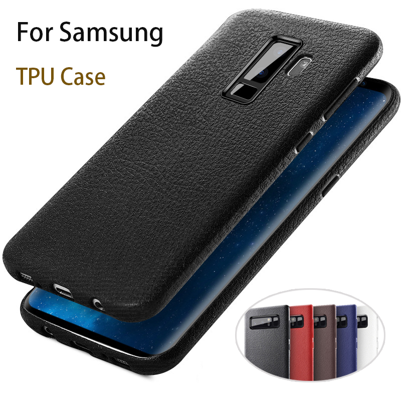 Soft TPU Case For Samsung Galaxy S8 S9 Plus S 8 9 note8 Phone Bag Case Slim Back Cover Protector Ultra Thin For Samsung s9 cases