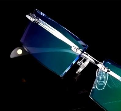 Optical Glasses Titanium Frame with MR-8 1.61 High Index Optic Lenses ASP HMC EXIA OPTICAL KD-58 Series