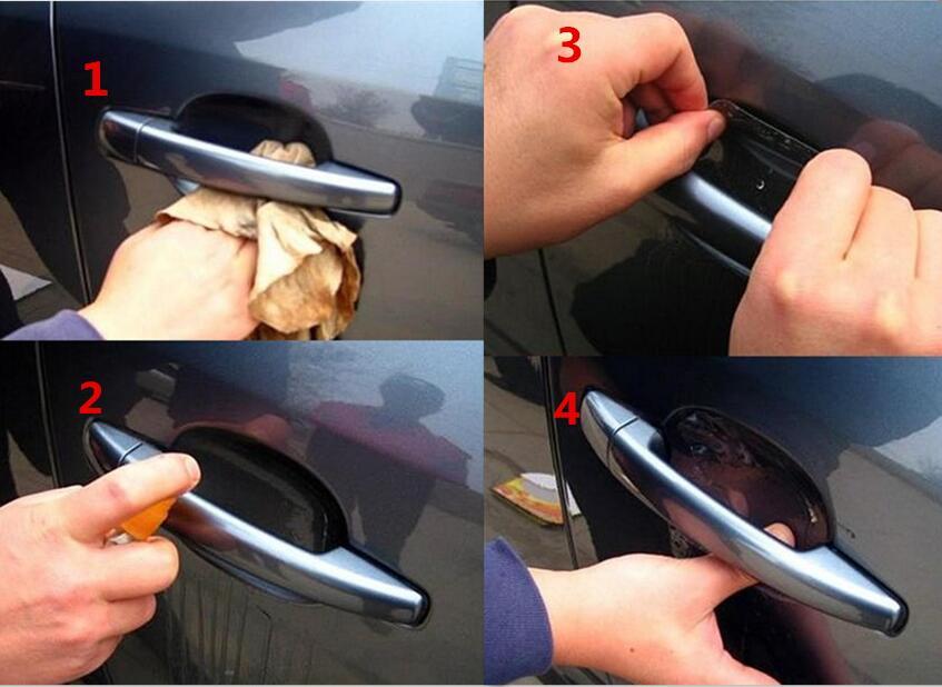 2018 новый автомобиль укладка ручка Защитная стикер для Hyundai tucson Защитные чехлы для сидений, сшитые специально для opel astra k mokka volvo xc60 Форд Фокус ...