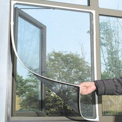 2019 Нескользящие мухи комары сетка на окно сетки ширма комаров Тюль Шторы протектор Fly Экран вставка