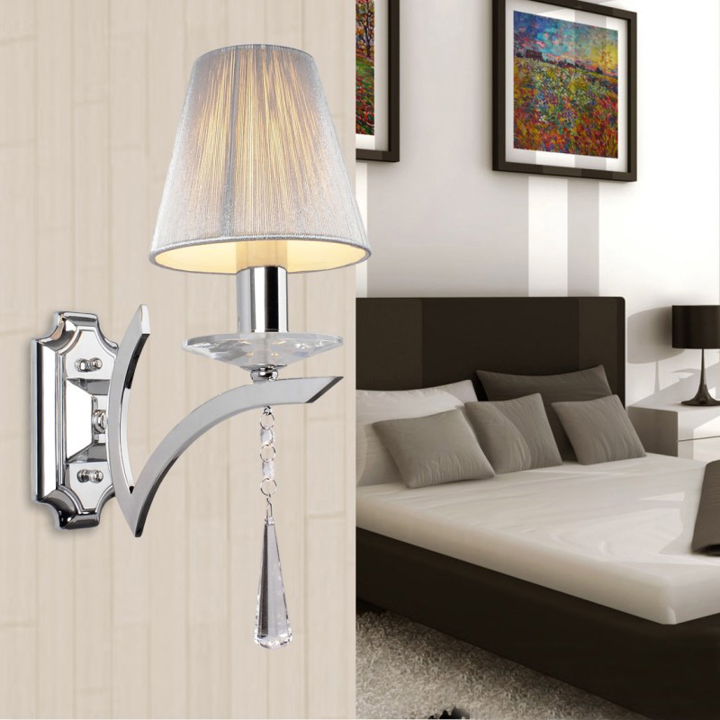 Murales Élégant Murale Contemporain Chambre Couloir Cristal Gouttes Applique Wl194 Lampe Appliques Salon Miroir De Luminaires Chevet SUGzVqpM