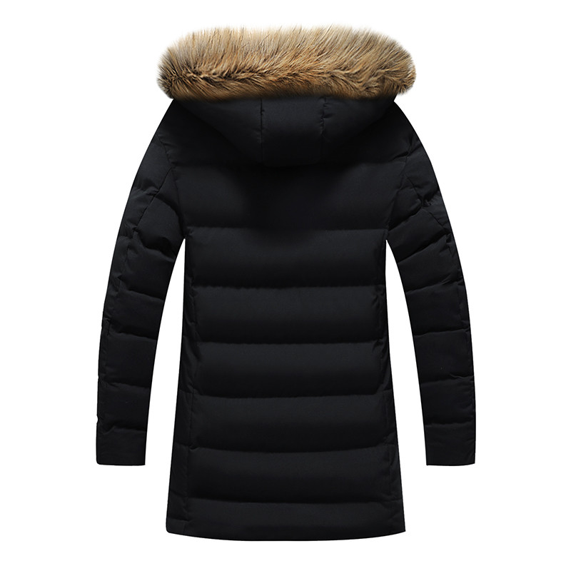 ฤดูหนาวใหม่ผู้ชาย Parkas เสื้อแจ็คเก็ต Casual Parka ชายเสื้อ Casual Slim Fit Hooded เสื้อผ้าขนาดใหญ่ 5XL 6XL-ใน เสื้อกันลม จาก เสื้อผ้าผู้ชาย บน   2