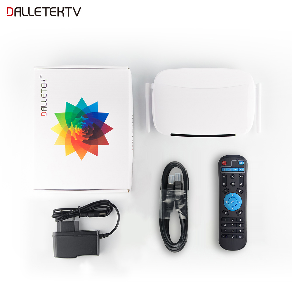 Image 5 - IPTV Subscription French IPTV Box SUBTV Code 1 Year Android 8.1 Smart Set Top Box IPTV Europe Arabic Netherlands Turkey IPTV-in Set-top Boxes from Consumer Electronics