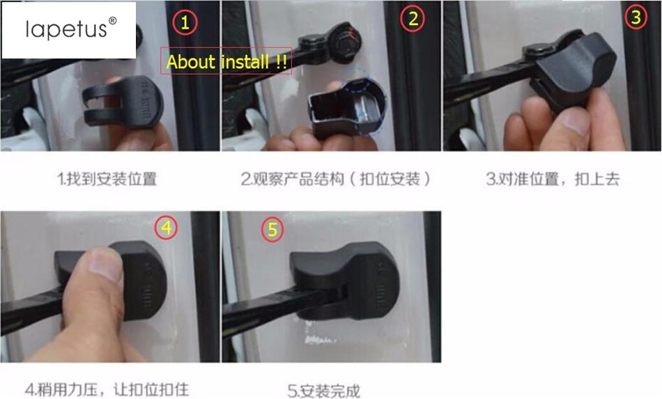 Beschützer Für INFINITI Q50 QX50 Q70 Kunststoff Zubehör Innentür - Auto-Innenausstattung und Zubehör - Foto 3