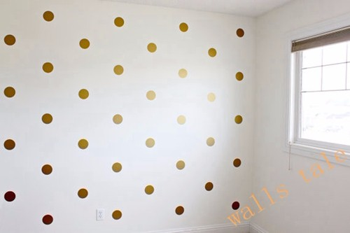 HTB1foavLXXXXXbtXXXXq6xXFXXX3 - Variety of sizes Polka Dots , Gold Polka Dots Stickers for kids rooms