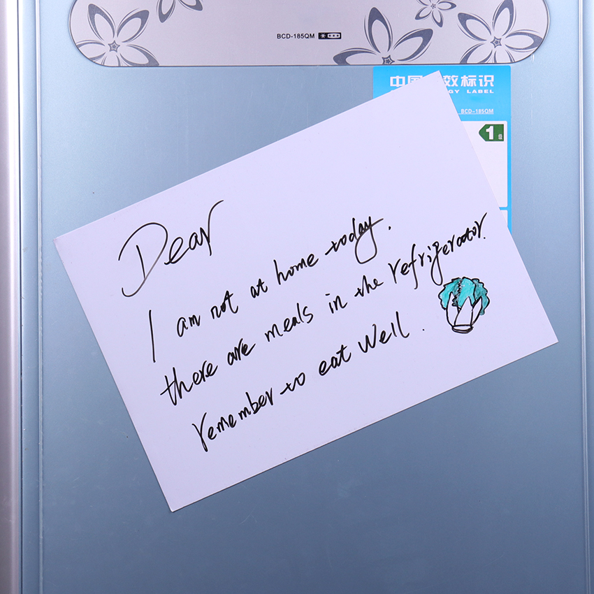 1PC Flexible Fridge Magnets Whiteboard Waterproof Kids Drawing Message Board Magnetic Refrigerator Memo Pad