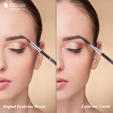 Brand Double Eyebrow Brush+Eyebrow Comb beauty cosmetic brush eyebrow makeup brushes for eyeBrow Brush blending eye