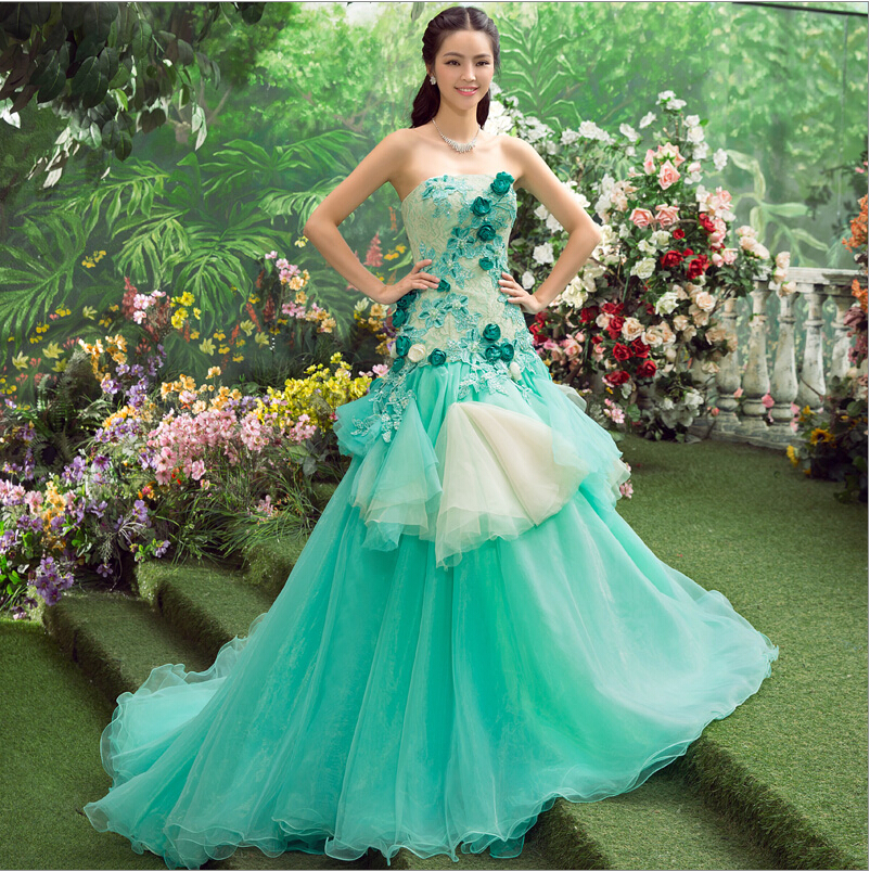 Online Buy Wholesale green mermaid prom dress from China green ...