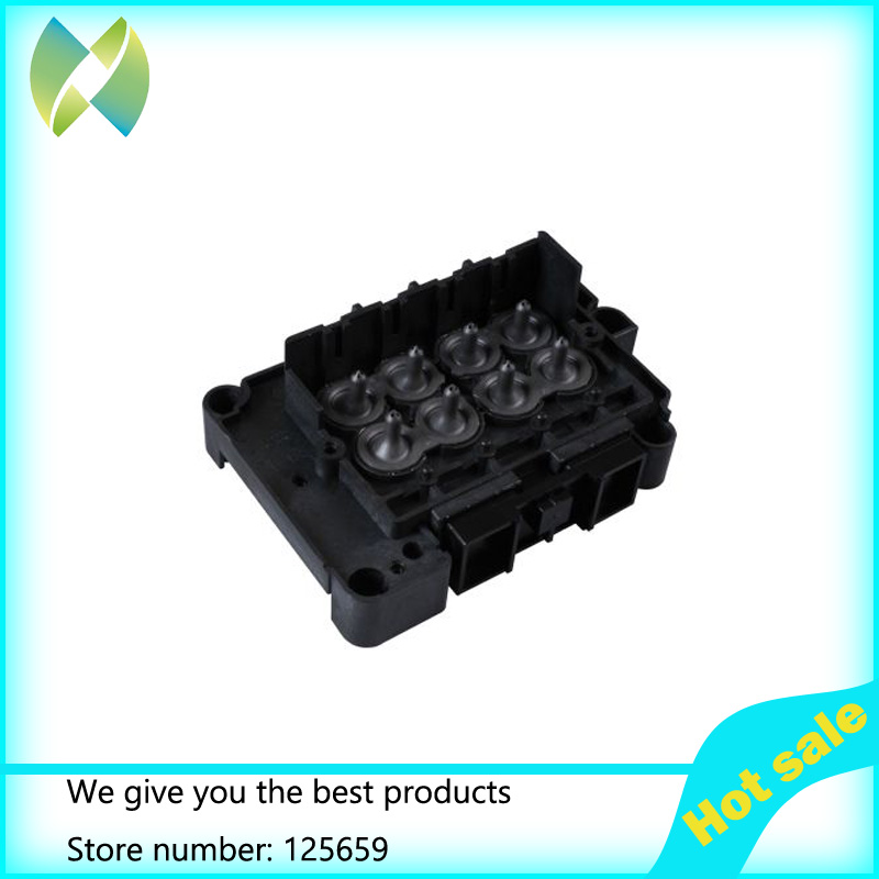 1pcs News and Original Solvent Manifold / Adapter printer parts for Epson DX7 Printhead F189010 htc desire 650