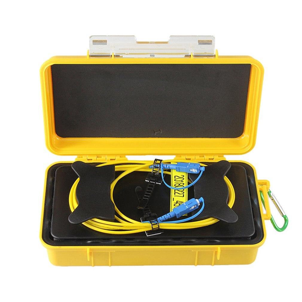 SC/APC Single Mode 9/125um 1310/1550nm 1000M OTDR Launch Cable Box extension cable test extension box Drop ShipSC/APC Single Mode 9/125um 1310/1550nm 1000M OTDR Launch Cable Box extension cable test extension box Drop Ship
