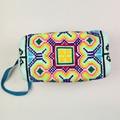 2016 Women wallet Canvas Feathers handmade handbags tribal ethnic vintage ethnic thai bag billeteras para mujer carteira bag