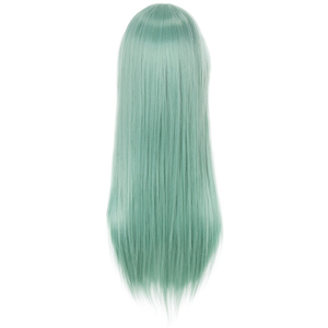 Image 4 - L email wig The Seven Deadly Sins Cosplay Wigs Elizabeth Liones Wig Long Green Straight Women Synthetic Hair Cosplay Wig