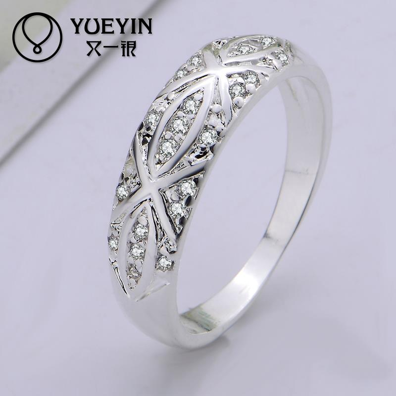R421 Fashion Band African Dubai Jewelry Wedding Rings For Women Vintage Silver Ring Anillos De Plata Bague Bijoux In From Accessories On