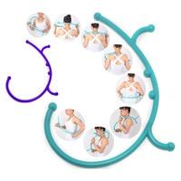 2 Цвета Новый обратно крюк массажер Средства ухода за кожей Шеи self мышцы Давление stick ручной инструмент точечный массаж стержень h7jp