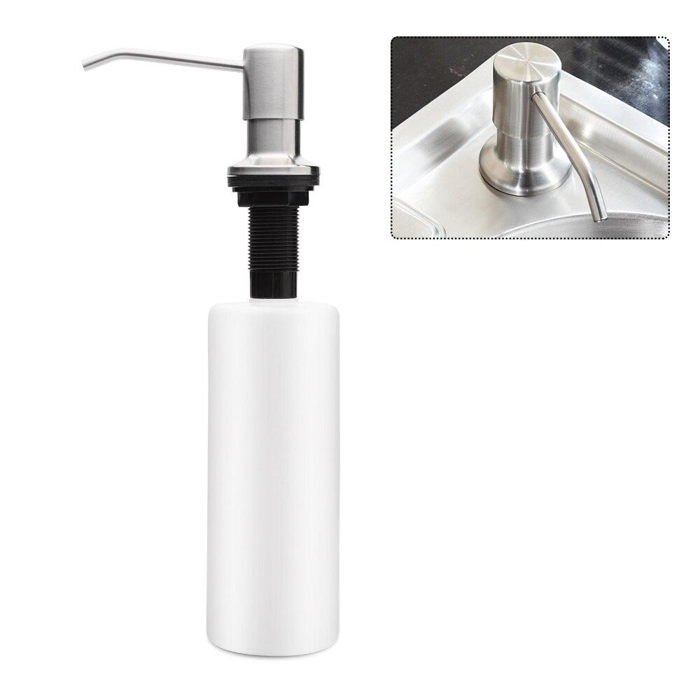 Logisch 17,6 Unze/500 Ml Edelstahl Waschbecken Seifenspender Pumpe Lotion Dispenser Für Küche Liquid Seifenspender